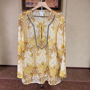 New! Kate & Mallory Designs Tunic Top size 1X